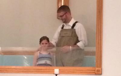 Celebrating Believer's Baptism